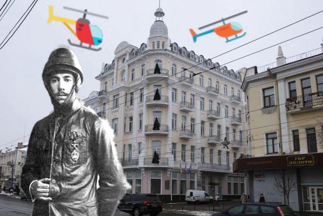 У «Савої» жив батько вертольотів Ігор Сікорський. А тепер тут суд