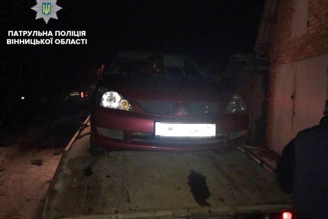 Погоня за п'яним водієм Mitsubishi: «Драгер» показав в 13 разів більше норми