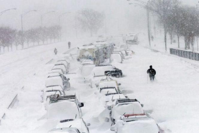 В Україну суне снігова буря з Балкан: оголосили жовтий рівень небезпеки (КАРТА снігопадів)