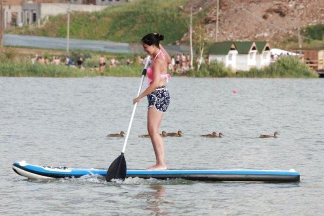 Олімпійська чемпіонка започаткувала у Вінниці новий вид веслування