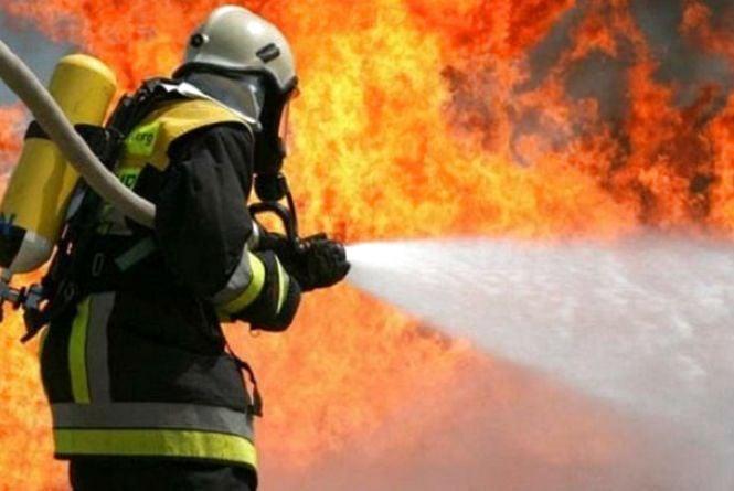 У Вінниці згорів будівельний вагончик. Потерпілих немає