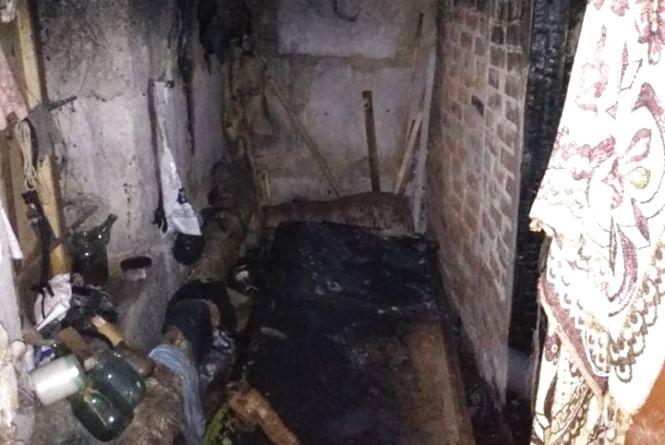 Пожежа у Хмільнику: потерпілий з опіками у реанімації