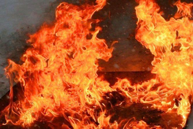На Вінниччині горіла розпайована ферма. Гасили пожежу двома екіпажами
