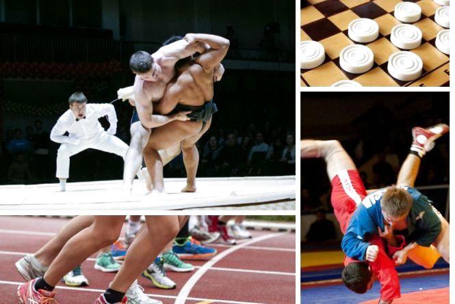 Анонси спортивного тижня: cумо, самбо, легка атлетика, шашки