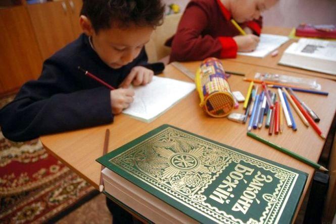 Уроки релігійної освіти в школах (Прес-служба ПРЯМИЙ)