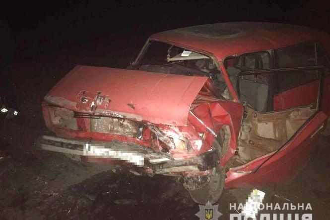 Лобове зіткнення: на Вінниччині в аварії постраждали четверо людей