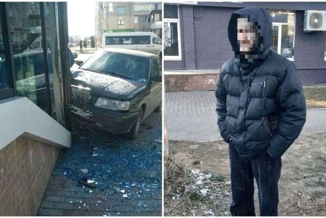 Водій, що протаранив магазин на Поділлі, був «під кайфом»
