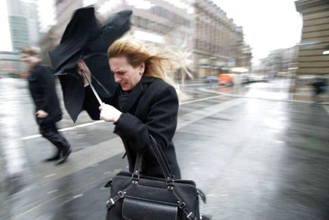 Сильний вітер. В Україні оголосили штормове попередження