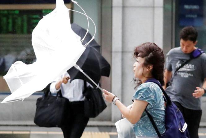 Через шквальний вітер ДСНС оголосили «помаранчевий» рівень небезпеки
