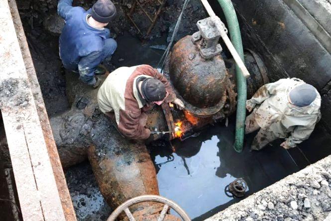 Промивка каналізації та заміна водопроводу. Перелік адрес, де тривають роботи