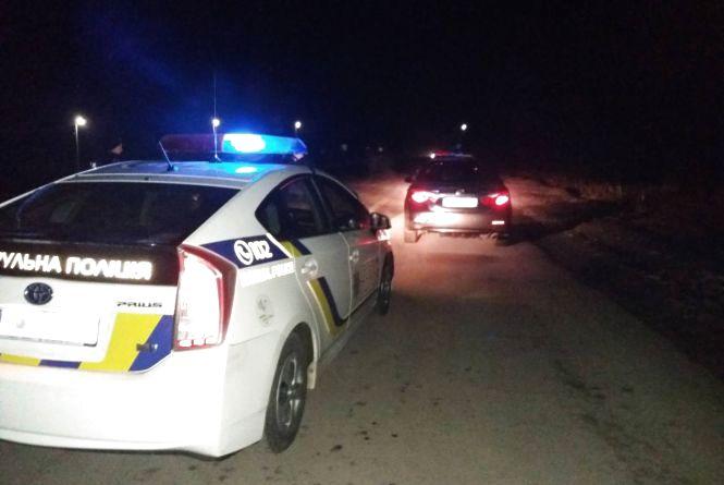 Патрульні спіймали п'яним за кермом поліцейського з Літина. «Драгер» показав 2,10 проміле