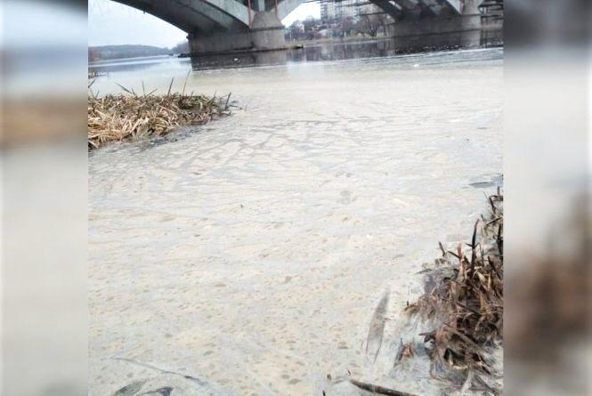 Річка Південний Буг покрилася піною. Фахівці кажуть, що все «у межах норми»