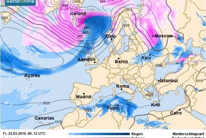 Циклон та штормовий вітер: синоптик попередила про весняні «витребеньки»