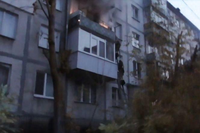 Смертельна пожежа на «Масложирі». Евакуювали 35 вінничан, є загибла