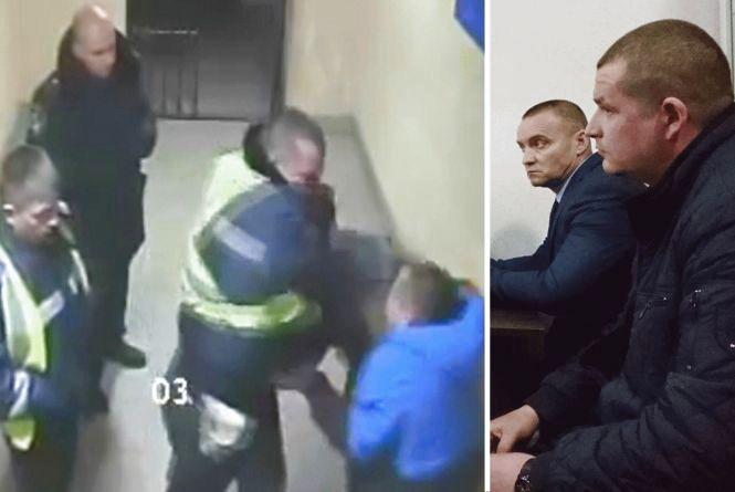 Чому поліцейського, який дозволив бити хлопця у відділку, не покарали