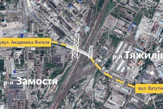 Новий міст буде довжиною 627 метрів. Орієнтовна ціна — 900 мільйонів гривень