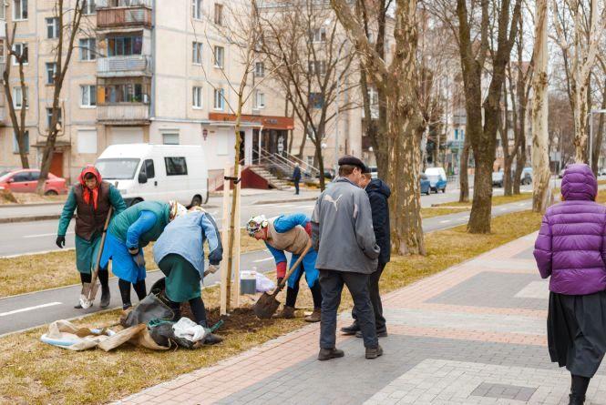 У місті висадять 750 дерев та більше тисячі кущів