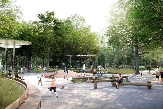 У мережу виклали концепцію реконструкції парку на Замості