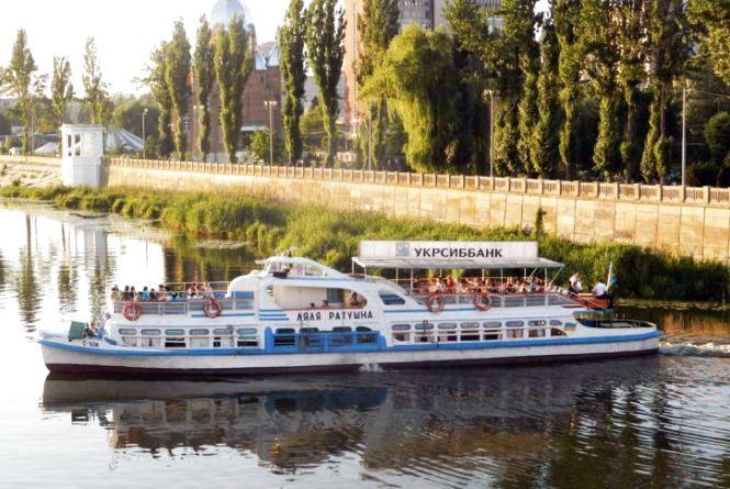 Новий громадський транспорт: пропонують возити вінничан по 10 гривень на катерах