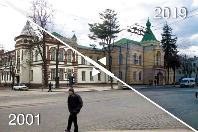 Фотоностальгія: Як змінилась правобережна Вінниця за вісімнадцять років