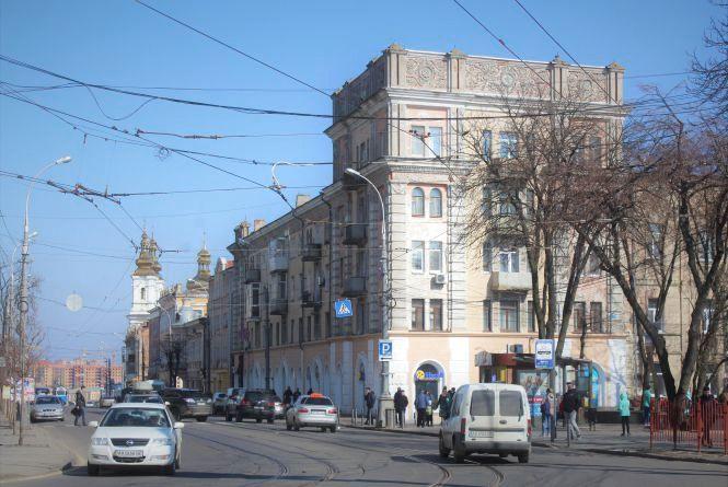 За 9,3 мільйона гривень хочуть відремонтувати будинок навпроти «Скайпарку»