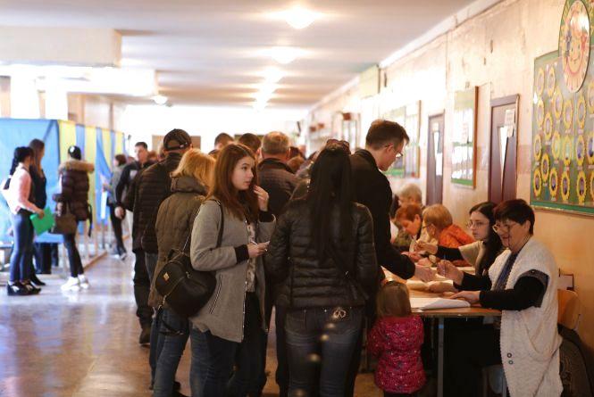 Явка виборців на Вінниччині — 65%