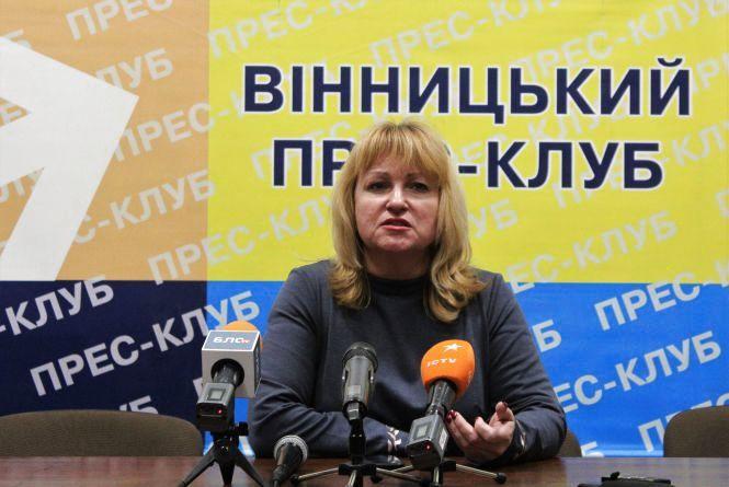Юлія Тимошенко є лідером на виборах у Вінницькій області — Щербаківська