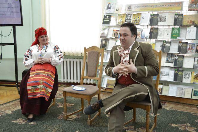 На честь 120-річного ювілею письменника у бібліотеці Тімірязєва грали Гоголя
