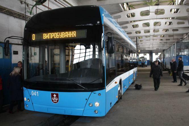 Новий на 100%. Показали тролейбус, який повністю зробили у Вінниці