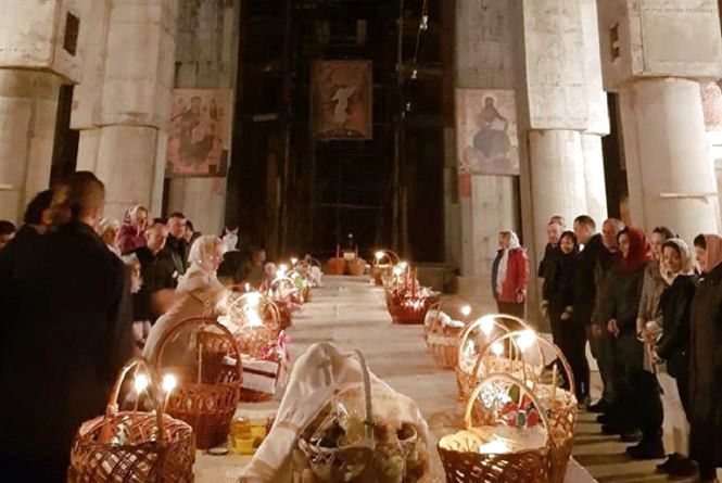 Коли у Вінниці можна буде освятити великодній кошик? Розклад богослужінь