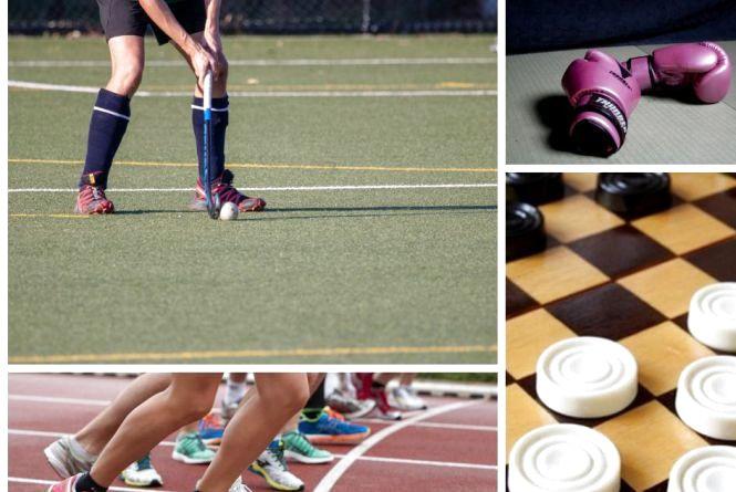 Анонси спортивного тижня: шашки, бокс, легка атлетика, хокей на траві