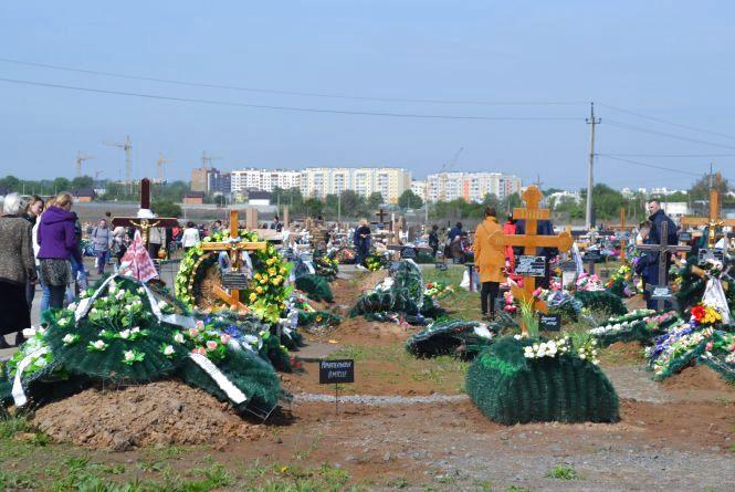 Другі проводи на Сабарівському кладовищі: ховають, а будівництво ще не закінчено