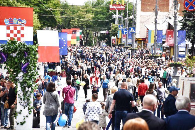 День Європи: пішохідна Соборна, тематичні локації та розваги