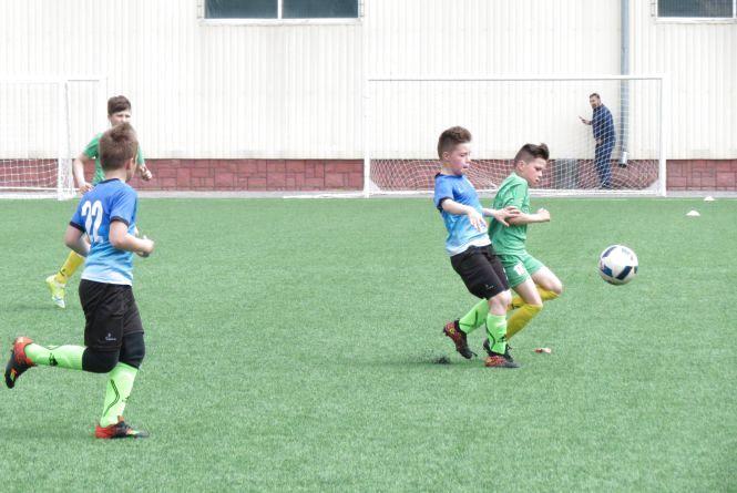 Футболісти школи №15 втратили путівку до фіналу турніру «Шкіряний м`яч»
