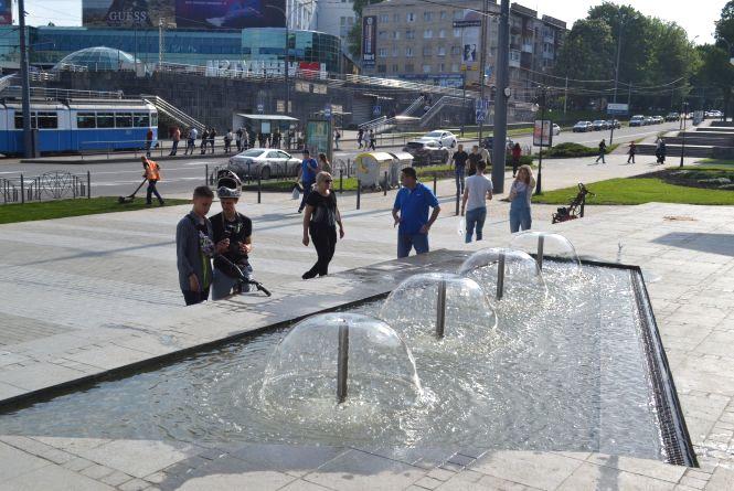 Ще один фонтан з'явився у Вінниці біля центрального парку