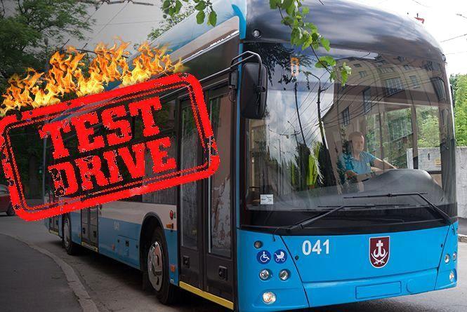 Чим вас здивує новий вінницький тролейбус? Тест-драйв «рогатого»