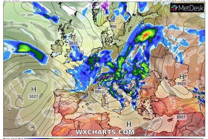 Сильний вітер та дощі з грозами: синоптик розказала про погоду на тиждень