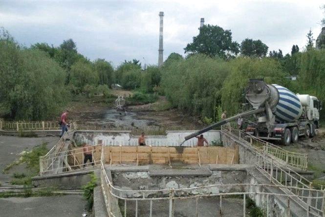 Два роки і 25 мільйонів гривень витратять на благоустрій озера біля Лісопарку