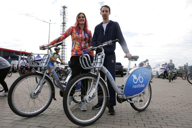 «Не вистачає стоянки Nextbike»: просять розмістити велопрокат на Київській