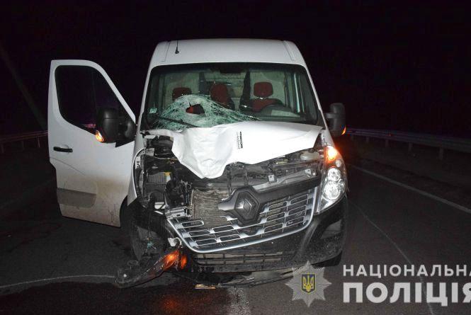 Смертельна ДТП у Калинівці: бус збив 61-річного пішохода