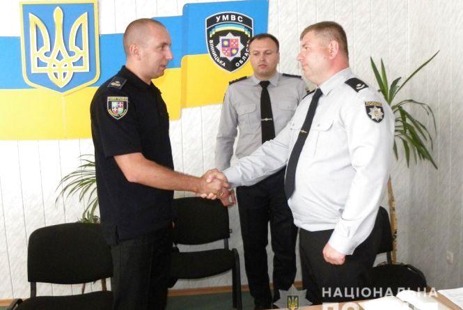 Крижопільську поліцію очолив майор Сергій Предоляк