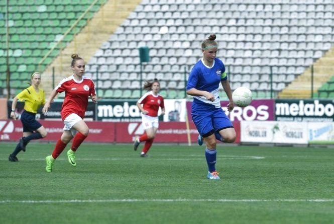Вінницькі футболістки вийшли до вищої ліги