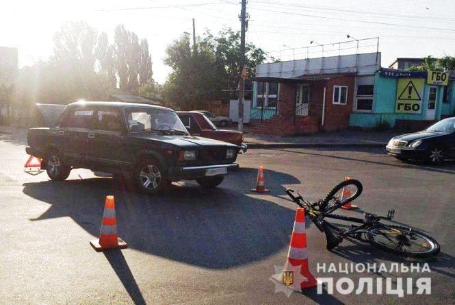 ДТП на Данила Нечая: водій «ВАЗу» збив 25-річного велосипедиста