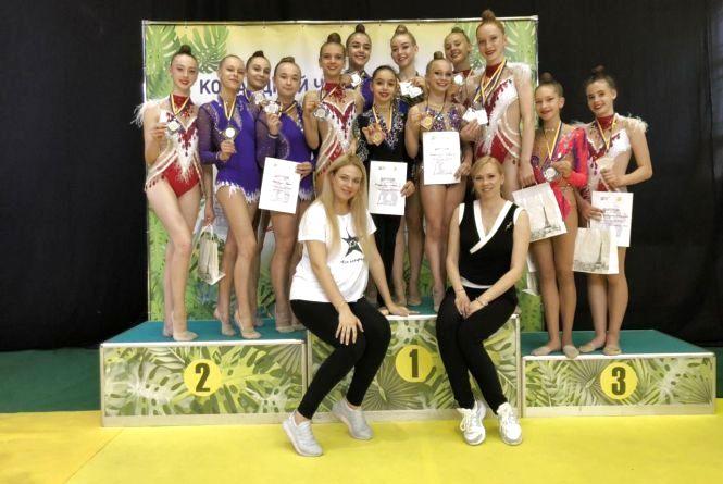 З Чемпіонату України з художньої гімнастики вінничани привезли 15 медалей