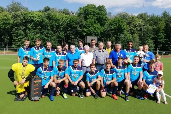 Команда «ОКС-ШВСМ-ЦОП» в 18-й раз виграла чемпіонат України з хокею на траві