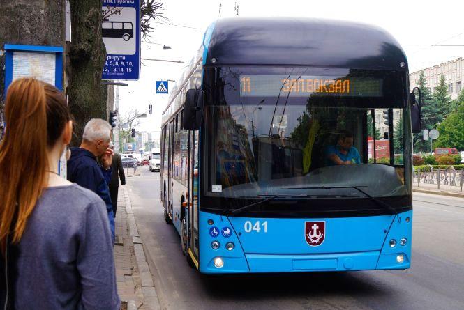 У мерії пропонують п'ять назв для вінницького тролейбуса