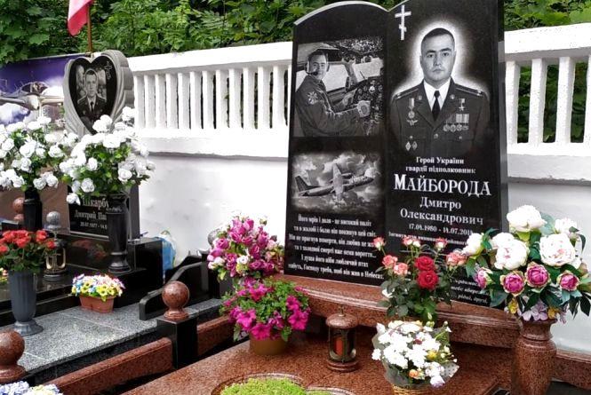 Вшанували пам'ять льотчиків Майбороди та Шкарбуна, які загинули 5 років тому