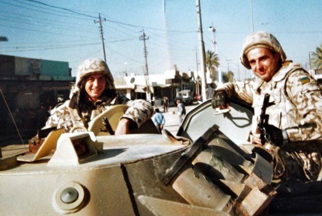 «Там було все чуже, а тут…» Дві війни нацгвардійця – в Іраку і на Донбасі. Які вони?