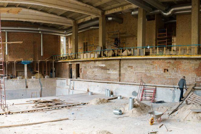 Реконструкція спорткомплексу на Янгеля: як триває, що там зроблять та коли закінчать