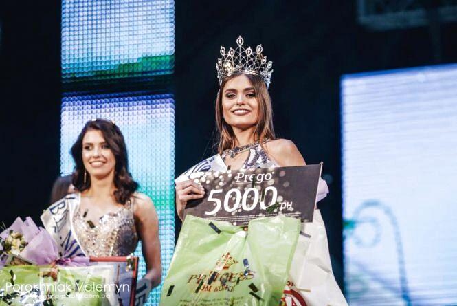 Вінничанка стала однією з фіналісток конкурсу «Міс Україна»